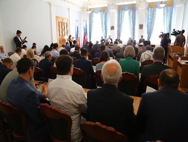 Депутаты назвали причину, из-за которой перенесли выборы главы администрации Ростова