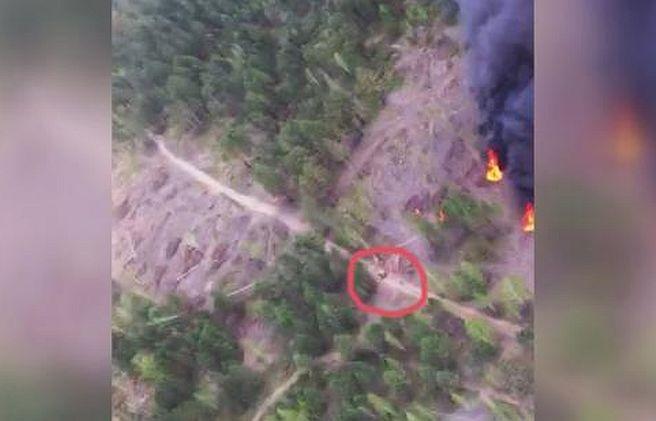 Пилот Як-18 снял на видео поджигателей леса в Иркутской области