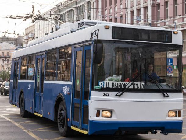 Московский троллейбус вышел на маршрут в Ростове