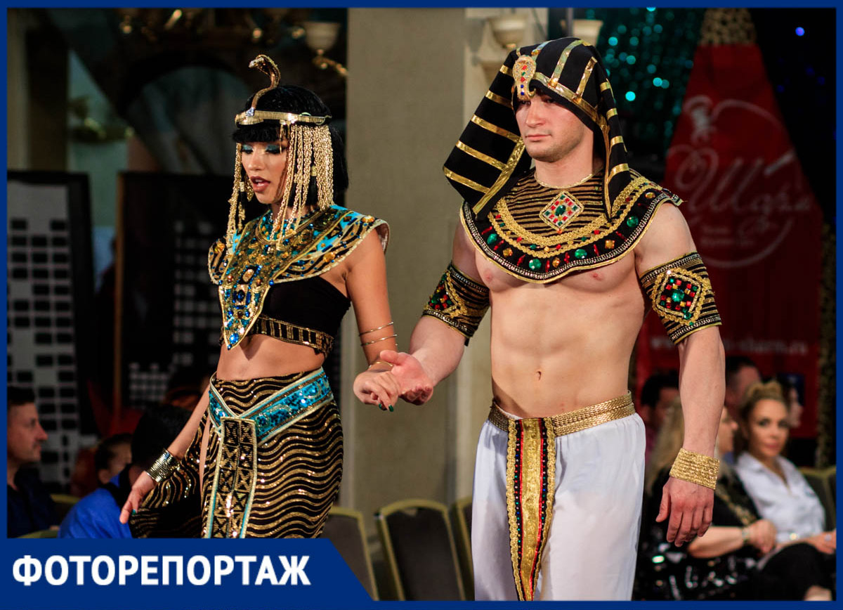 Самые яркие кадры ростовского фестиваля моды «Золотая молния»