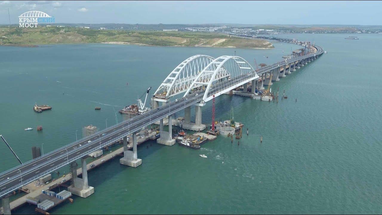 Подведены итоги работы Крымского моста за год