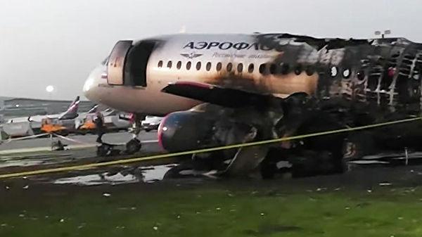 Разбившийся в Москве SSJ 100 заходил на посадку с невыпущенными закрылками