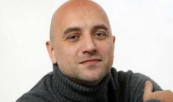 Захар Прилепин избил поэта из    Владивостока