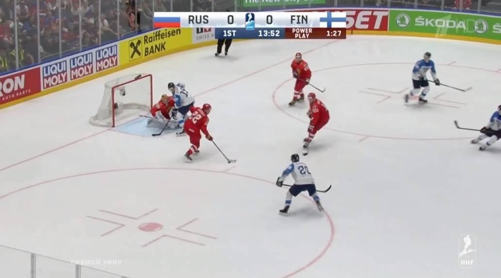 Сборная России уступила Финляндии и не смогла выйти в финал чемпионата мира