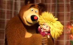 Герои мультсериала «Маша и Медведь» запоют по-итальянски