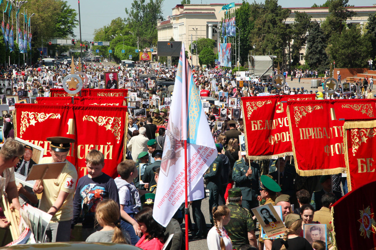 В казахстанском Актобе отменят шествие «Бессмертного полка»
