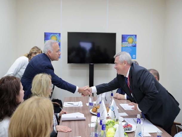 Ростовская область привезла из Петербурга 187,5 млрд рублей инвестиций